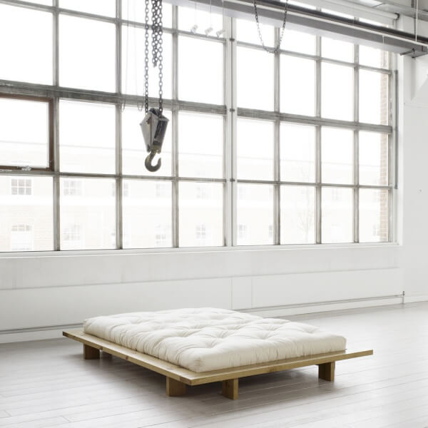 Futonbed Japan naturel  Onlinebedkopennl