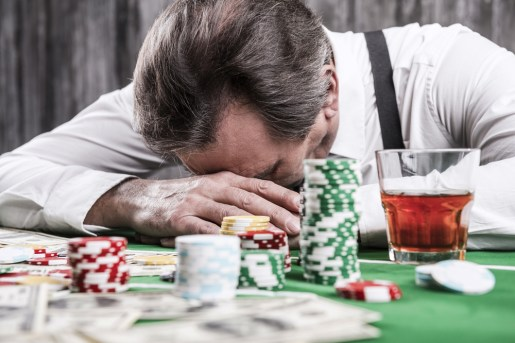 gambling addiction signs