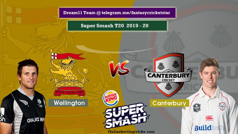 Canterbury vs Wellington