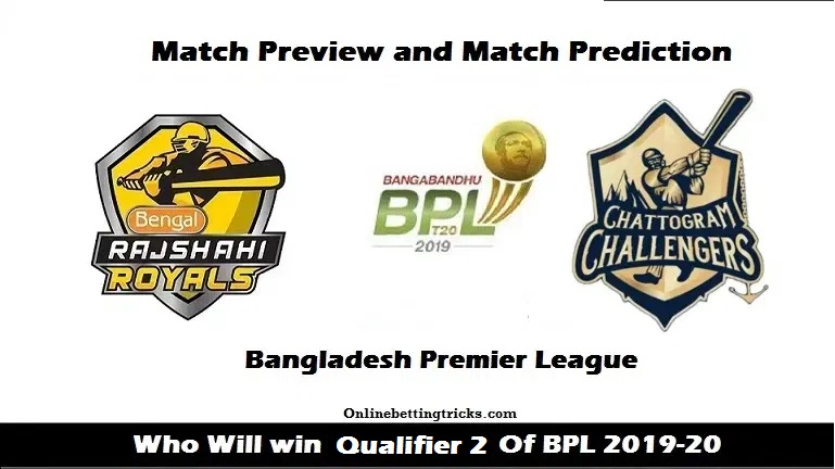 Rajshahi Royals vs Chattogram Challengers