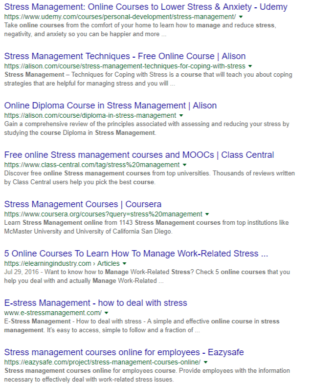 stress-management-online-course-Google-Search
