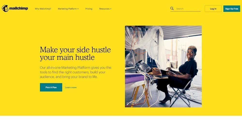 mejores herramientas para marketing digital: mailchimp