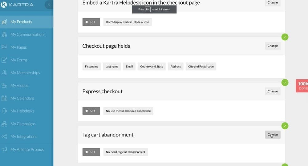 Kartra vs Clickfunnels_product builder