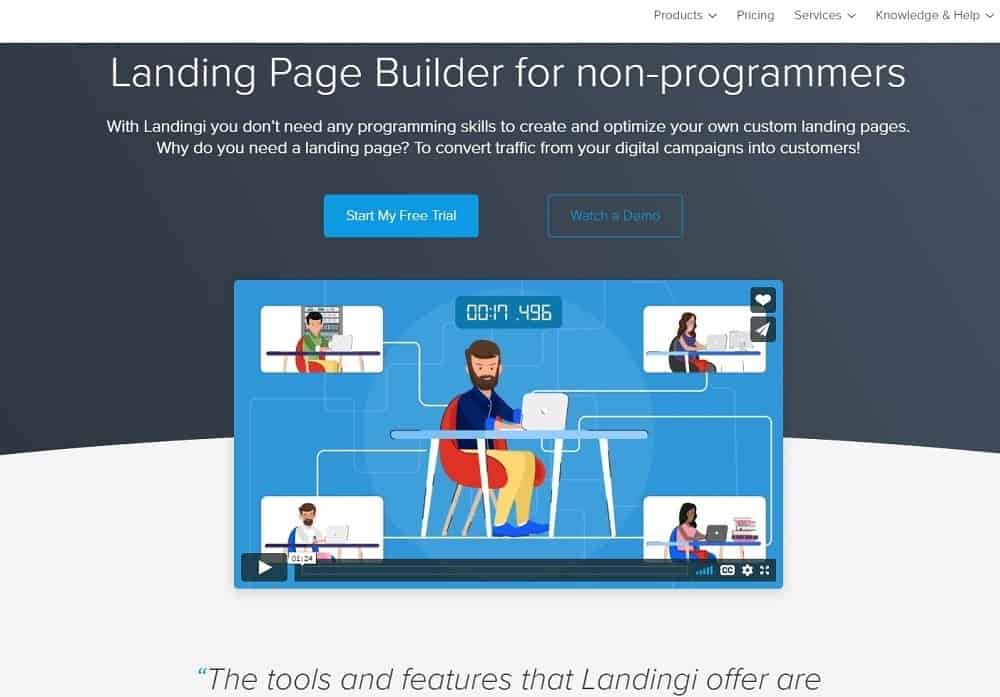 landingi review_home