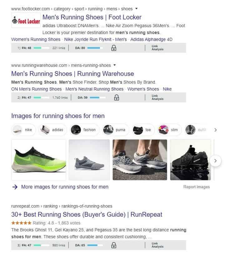 chaussures de course pour hommes_mozbar
