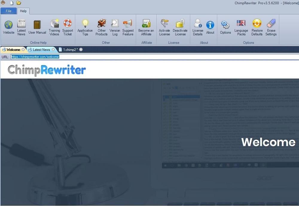 Chimprewriter