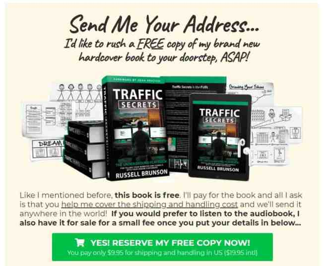 How much does traffic secret cost