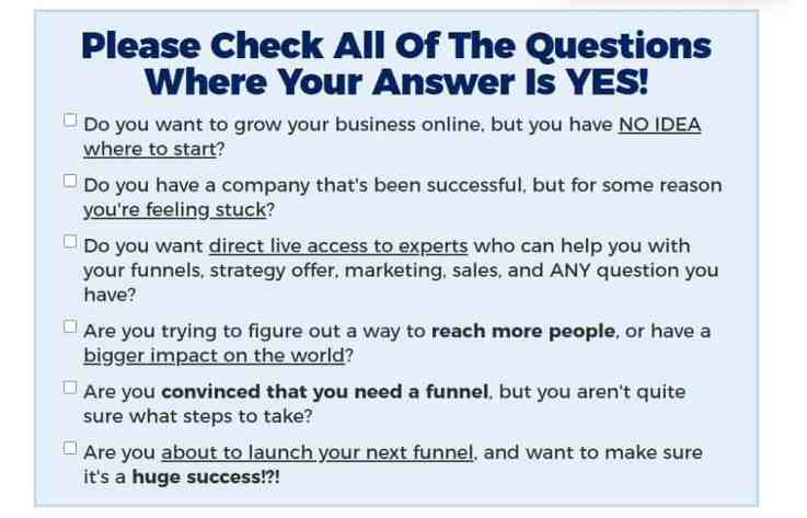 Why should you sign up for the One Funnel Away Challenge