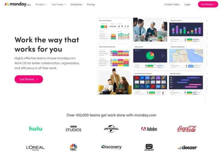 ClickUp alternatives - monday.com