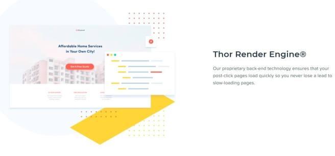 Instapage Thor Render Engine