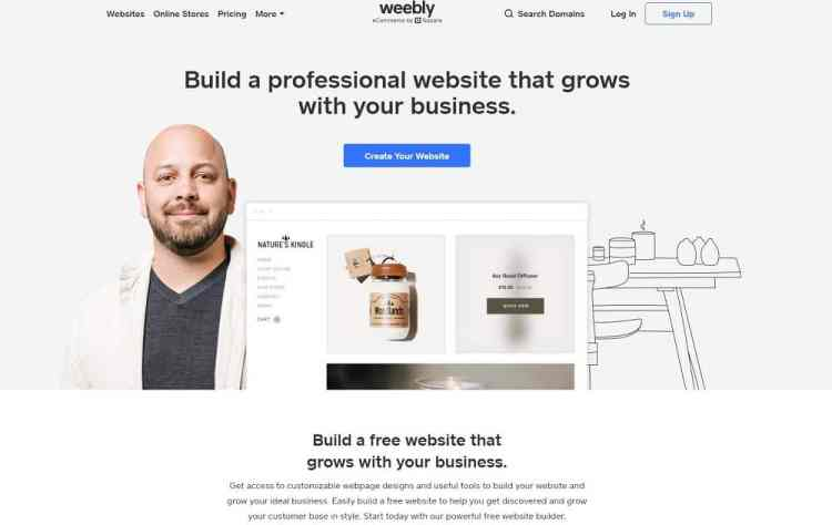 Weebly vs Wix