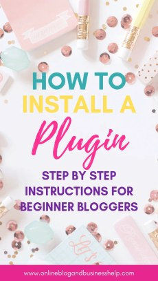 "Text ""How to Install a Plugin"""