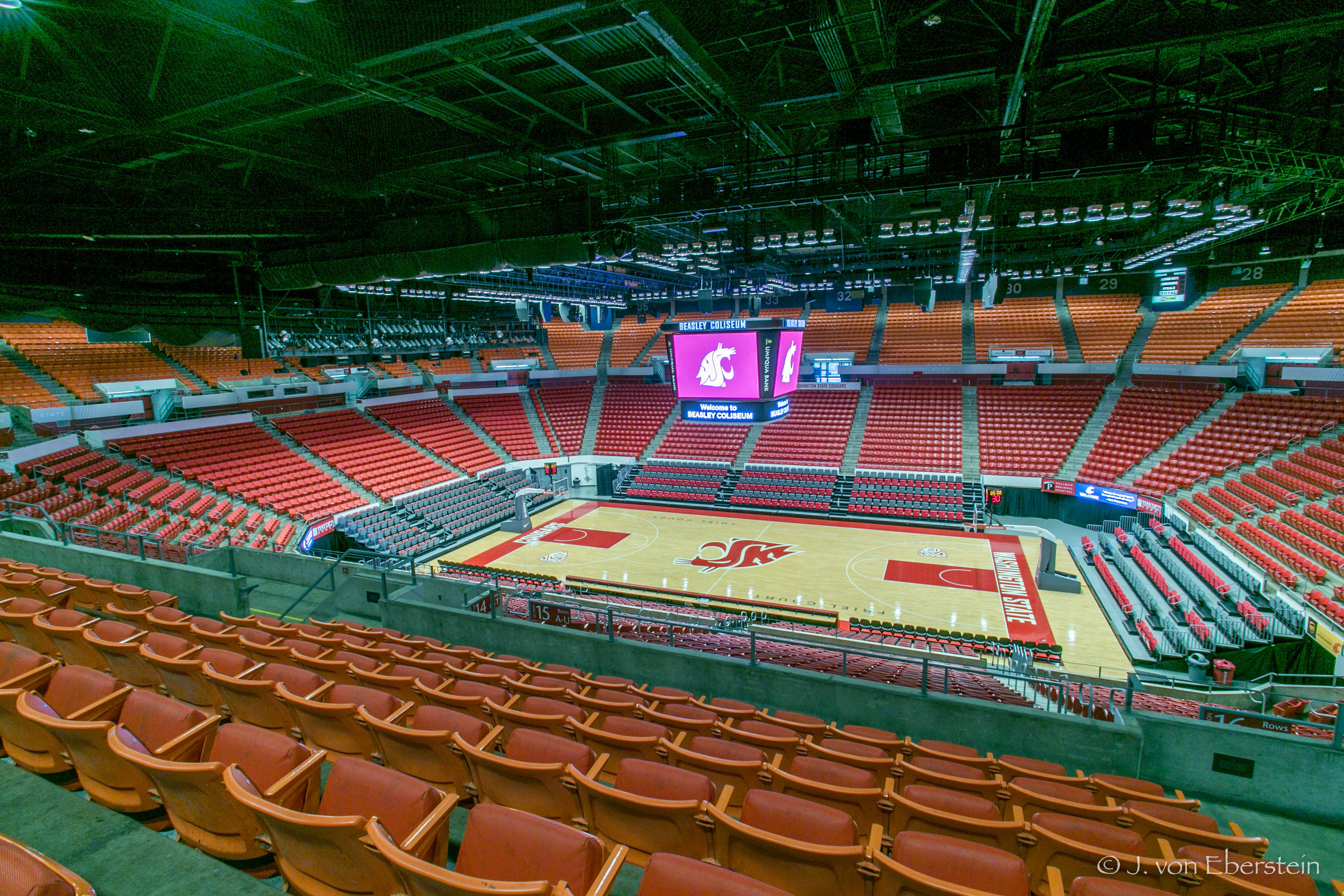 Beasley Coliseum, Washington State University, Pullman, WA