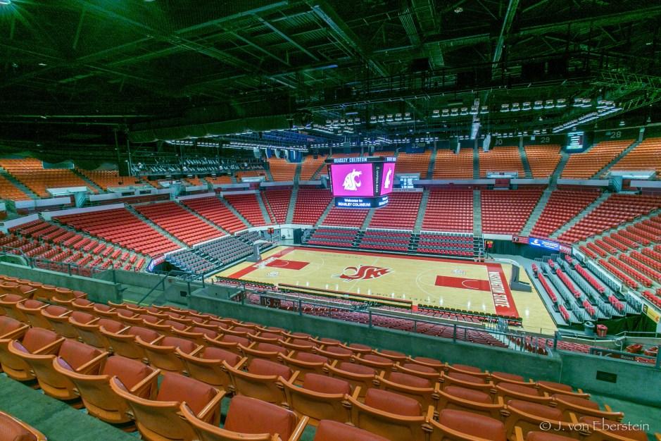 Beasley Coliseum, Washington State University, Pullman, WA