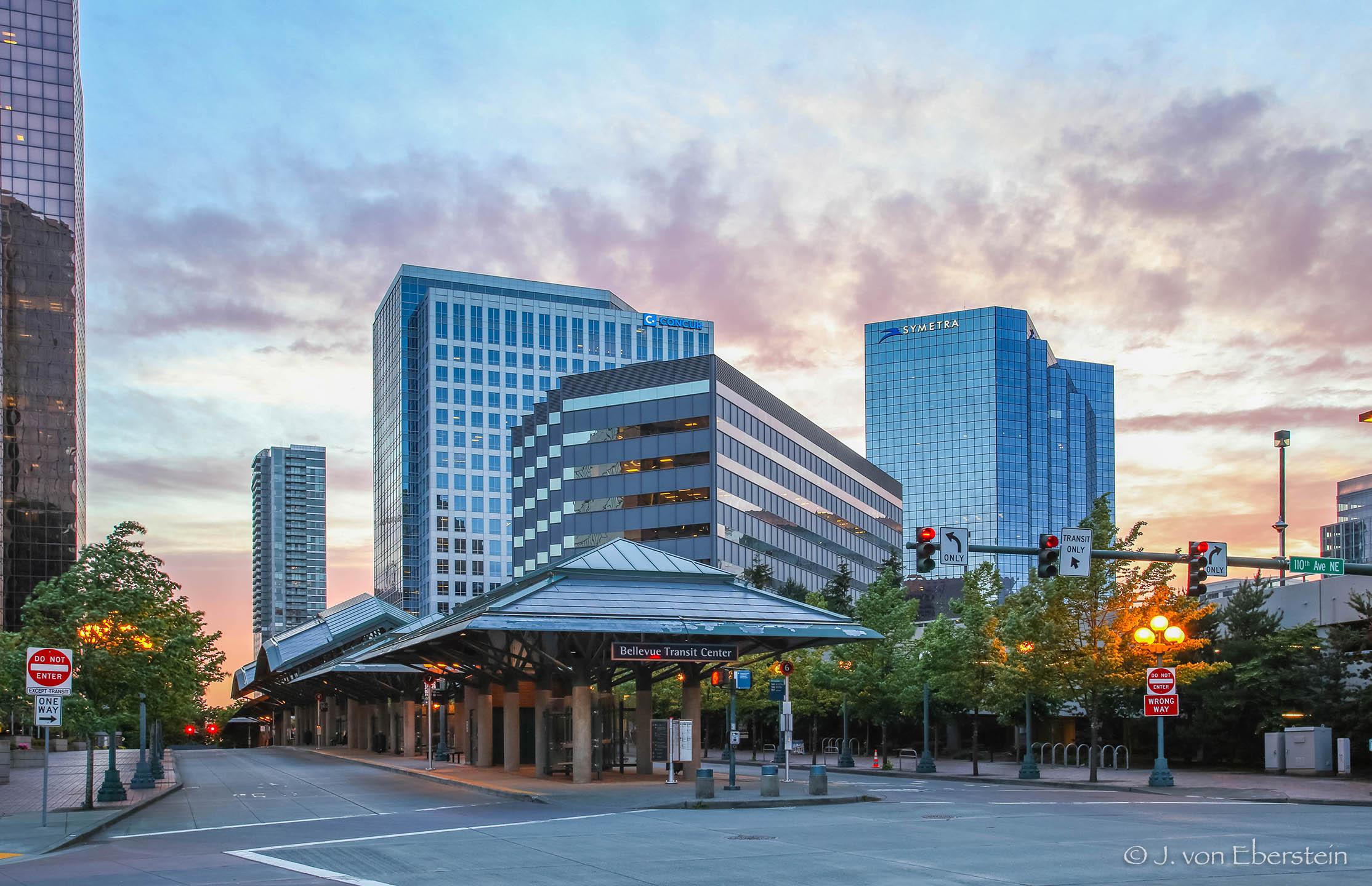Bellevue Transit Center, Bellevue, WA