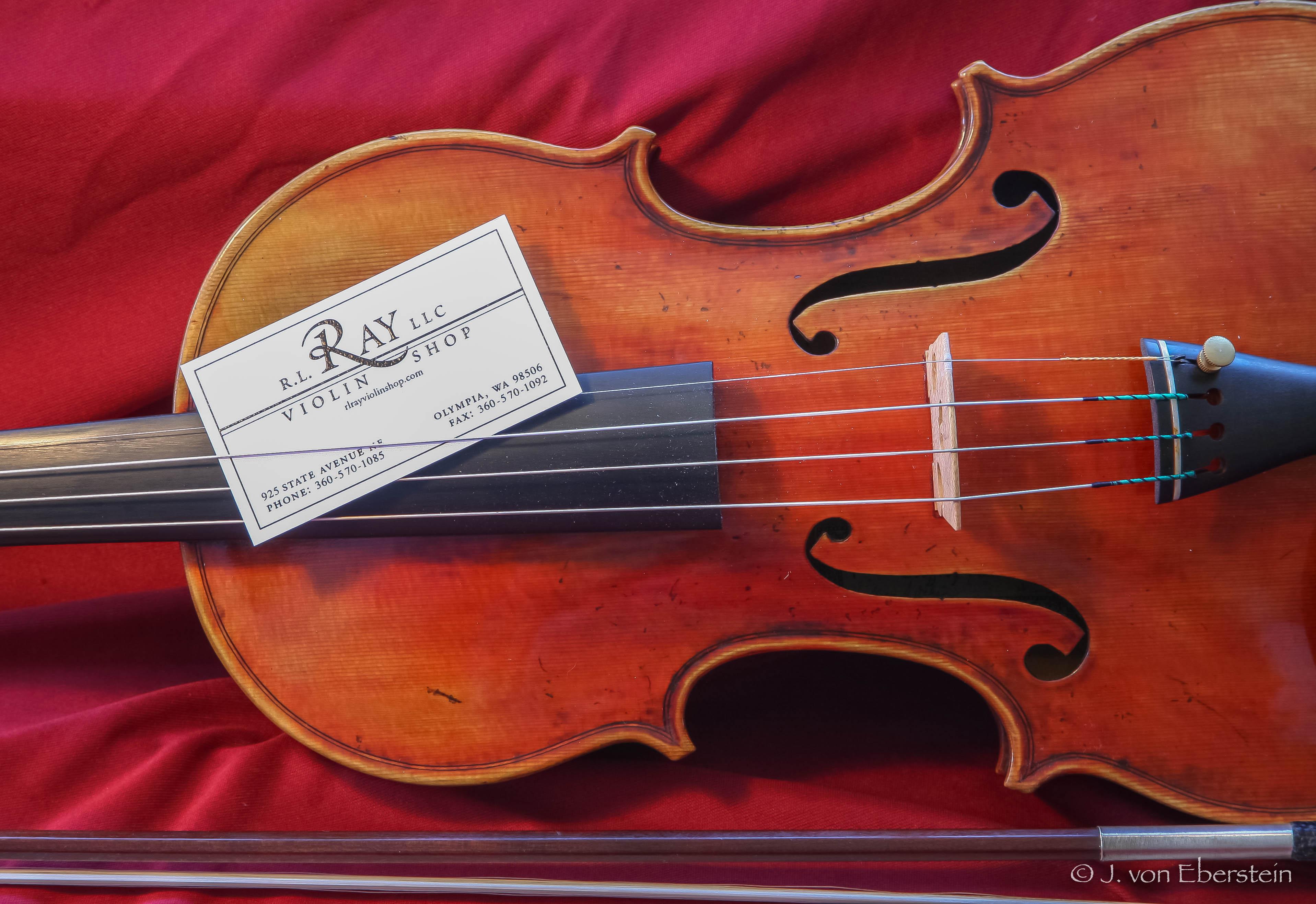 R. L. Ray Violin Shop, Olympia, WA