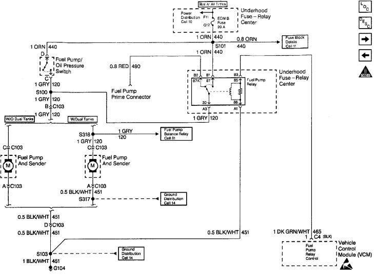 97 s10 wiring diagram charging system