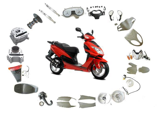 Запчасти для скутеров Yamaha, Suzuki, Honda