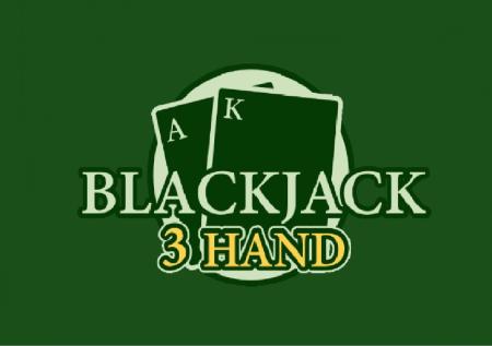 Blackjack 3 Hand – utrostručite svoje šanse za pobedu!