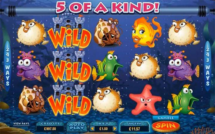 Fish Party, online casino bonus, online free spins