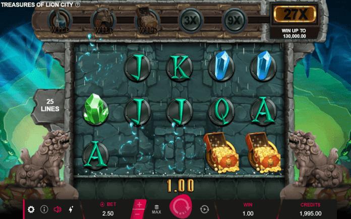 Treasure of Lion City, Microgaming, Bonus Casino
