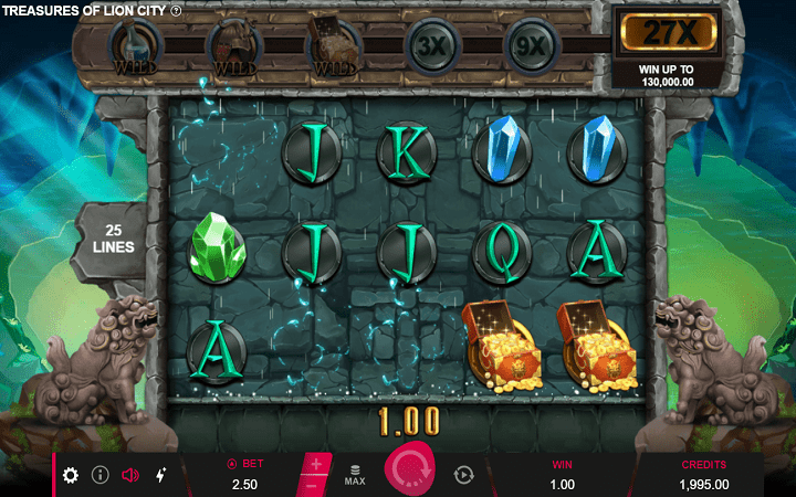Treasure of Lion City, Microgaming, Online Casino Bonus