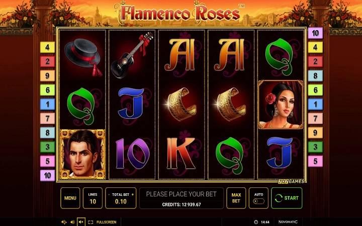 Flamenco Roses, Novomatic, Online Casino Bonus