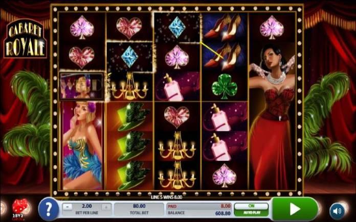 Cabaret Royale, Online Casino bonus, Balkan Casino