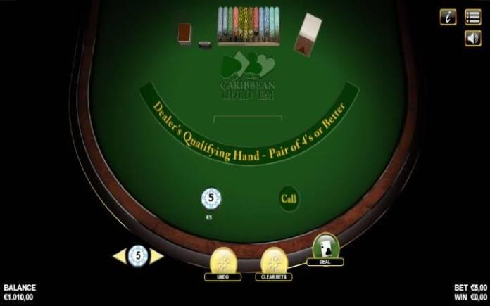 Caribbean Holdem, Online Casino Bonus
