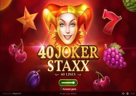 40 Joker Staxx –  voćna avantura koja će vas zabaviti!