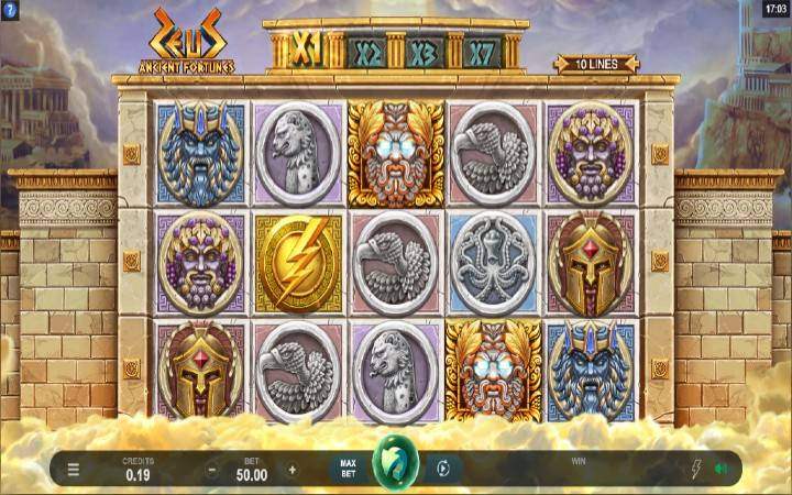 Bonus Casino, Ancient Fortunes Zeus