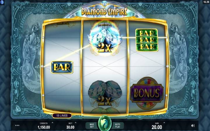 Online casino bonus, multiplikatori, džokeri, dijamanti