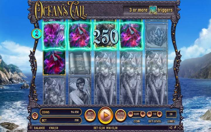 Oceans Call, Online Casino Bonus
