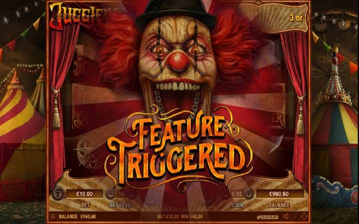 Online Casino Bonus, Jugglenaut