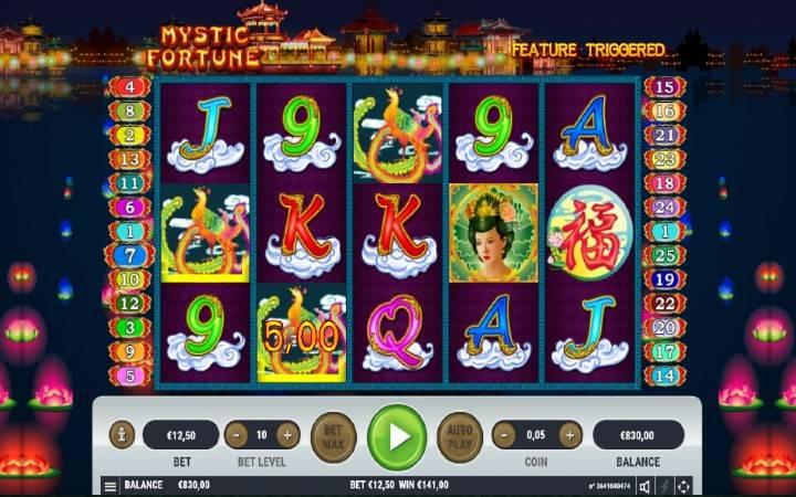 Online Casino Bonus, Mystic Fortune