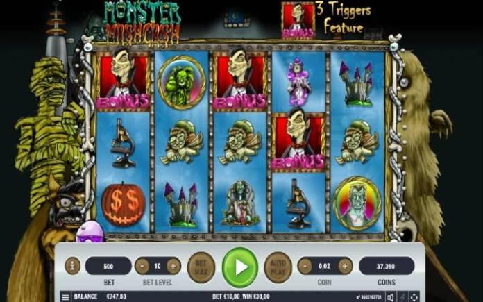 Besplatni spinovi, Monster Mash Cash, Bonus Casino