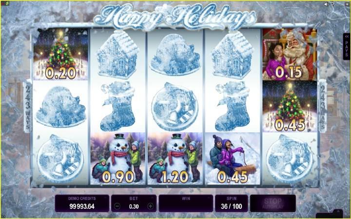Frosty Fun, Online Casino Bonus
