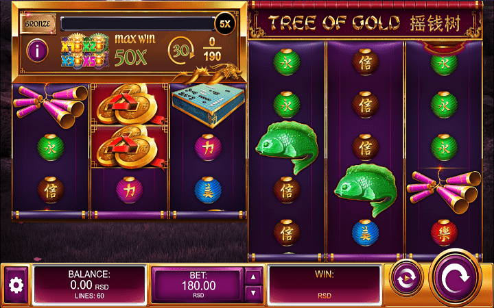 Tree of Gold, Kalamba, Online Casino Bonus