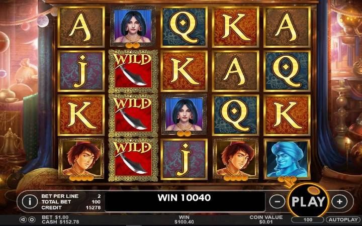 Aladdin's Treasure, Bonus Casino, balkan casino