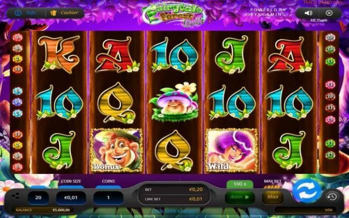Fairytale Forest Quik, Online Casino Bonus
