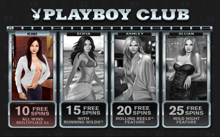 Playboy, Microgaming, Online Casino Bonus