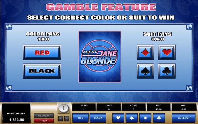Agent Jane Blonde, Microgaming, Online Casino Bonus
