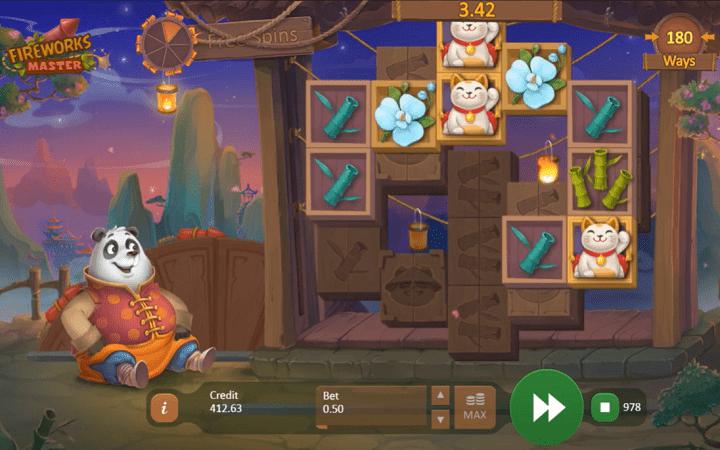 Fireworks Master, Playson, Bonus Casino