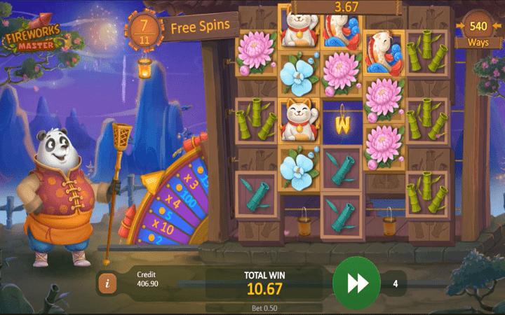 Fireworks Master, Playson, Online Casino Bonus