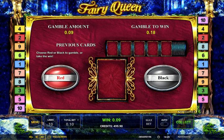 Fairy Queen, Greentube, Novomatic, Online Casino Bonus