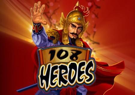 108 Heroes – kineski ratnici daju vrhunske dobitke!