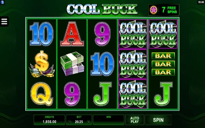 Cool Buck, Online Casino Bonus