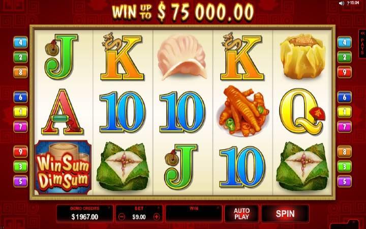 Win Sum Dim Sum, Online Casino Bonus