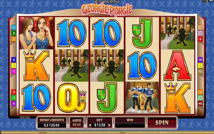 Georgie porgie, online casino bonus