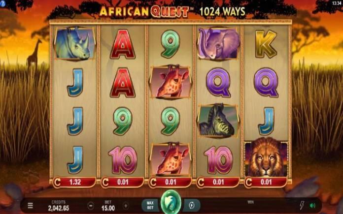 African Quest, Online Casino Bonus